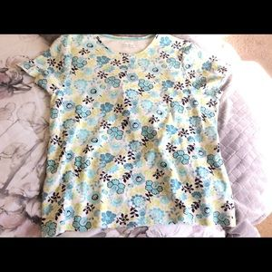 Charter Club Woman's Top Size 2X Floral Top